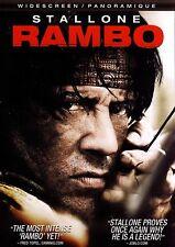 NEW DVD - RAMBO - Sylvester Stallone , Julie Benz, Matthew Marsden