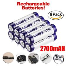 8X AA NI-MH batteries Rechargeable 2700mAh 1.2V for MP3 Toys Camera US STOCK BP