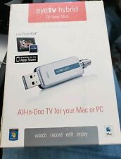 Elgato EyeTV Hybrid TV Tuner for Mac or PC Brand New! Remote Included Open Box