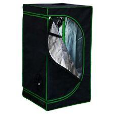 Growbox 40x40x120CM Indoor Gewächshaus Pflanzenzelt Growroom Growschrank 🌱