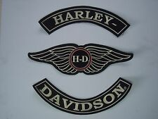 Patch Ecusson sportster, fat boy bob low rider dyna hells angels ace cafe racer