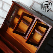 1/6 Scale MCCTOYS Scene Furniture Wooden Cabinet b Book Shelf