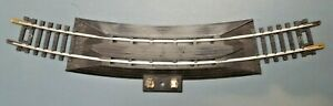 Vintage TYCO 18 Inch Radius Curved ReRailer Terminal Snap Track Nickle HO Scale