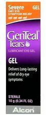 Genteal Tears Lubricant Eye Gel Severe Dry Eye Exp. 10/2020