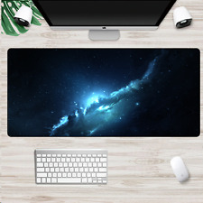 XXL Large Size Gaming Mouse Pad Space Galaxy fr Computer PC Mousepad Desk Mat