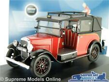 AUSTIN LONDON TAXI MODEL CAR CAB LOW LOADER BURGUNDY 1:43 OXFORD AT004 RED K8
