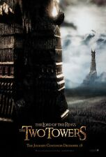THE LORD OF THE RINGS: THE TWO TOWERS (2002) ORIGINAL ADVANCE MOVIE POSTER