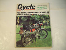 Cycle Magazine January 1967 Jawa Bridgestone Hercules GC 131F