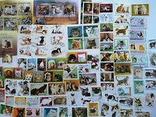More details for 200 different cats - domestic and wild on stamps collection