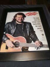 Travis Tritt  Rare Original Warner Brothers Promo Poster Ad Framed!