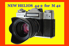 NEW !! Helios 44-2  f/2/58mm Lens M42 mount, 8 blades, kit in box