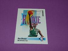 DEE BROWN BOSTON CELTICS ROOKIE ALL ROOKIE-TEAM 1991 NBA SKYBOX BASKETBALL CARD