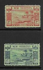 New Hebrides 1938 1r/2r mm