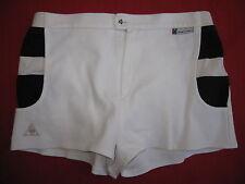 Short Le Coq Sportif Tennis Blanc ATP Collection YANNICK NOAH ancien - 90