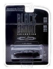 GREENLIGHT COLLECTIBLES 1:64 SCALE DIECAST METAL BLACK 2013 CHRYSLER 300 SRT