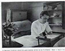 1921  --  BERNE  LEGIONNAIRE FROIDEVAUX AMPUT DES QUATRE MEMBRES   Y581