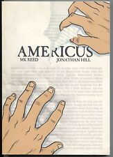 Americus 1 GN TPB First Second 2011 VF 1st Printing MK Reed Jonathan Hill