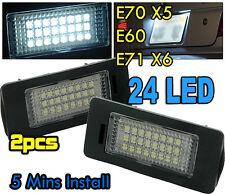 Número De Matrícula Del LED Luz Lámpara BMW serie 5 E39 E60 Canbus Libre De Error E61 E90 E70