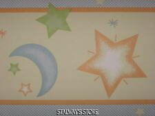 Lambs Ivy Little Dipper Border Stars Moon 10 Yard Roll