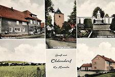 16717 Foto-Postal Vistas de la Ciudad Oldendorf Sector Hamelin Iglesia Ehrenmale
