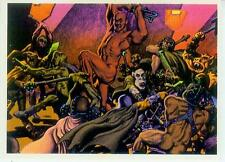 Richard corben Postcard: el-Battle (estados unidos, 1986)