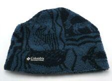 COLUMBIA SPORTSWEAR COMPANY blue beanie Sz- Adult S  or Youth L / XL