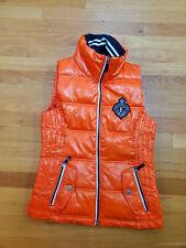 Gorgeous Fall Euro-Star Eurostar orange vest - Small Womens - horse riding