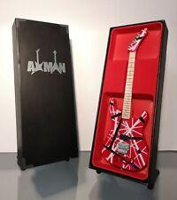 Eddie Van Halen (Van Halen): Kramer 5150 Baretta EVH - Miniature Guitar Replica