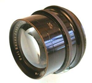 VINTAGE Lems  Carl Zeiss Jena Tessar 300 mm f/ 4.5