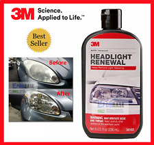 39162 3M Headlight Renewal, Car Headlamp Polish Cleaning, Wax Waxing