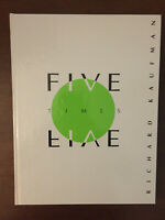 Five Times Five | Richard Kaufman | 1st ed Hardcover | Close-Up Magic