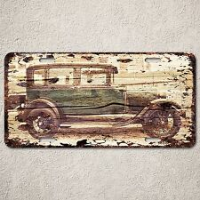 LP0160 Old Vintage Classic Car Sign Auto License Plate Home Store Gift Decor