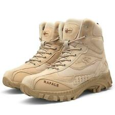 Desert Shoes Mens High Top Boots Military Tactical Combat Army Boots Outdoor NEW
