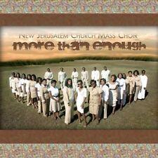 New Jerusalem Mass Choir - More Than Enough [New CD]