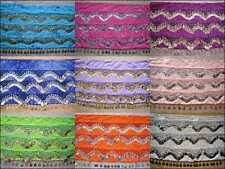 Wholesale 12 High Quality Handmade Belly Dance Hip Scarf Coin Belt..FULL SIZE
