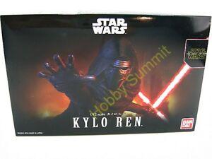 Bandai STAR WARS 1/12  KYLO REN   The Force Awakens  Model Kit