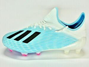 Adidas X 19.1 FG/Nockenschuhe/Fußballschuhe/Neuware/blau/weiß/schwarz/F35316