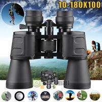 10-180 X 100 Night Version Binoculars High Magnification HD Zoom Times Telescope