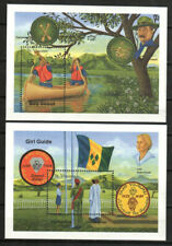 Saint Vincent Stamp - Boy Scouts-Girl Guides Stamp - NH