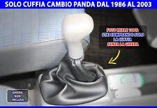 Fiat Panda cuffia leva cambio 1100 in simil pelle auto per da1986 2003 marce di