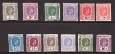 Mint Hinged George VI (1936-1952) Mauritian Colony Stamps