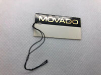 Movado Vintage Watch Seal Hang Tag Price Tag Watch  100% Authentic