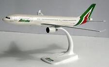 Alitalia Airbus a330-200 1:200 HERPA snap-fit 610933 modèle d'avion a330 I-ejga
