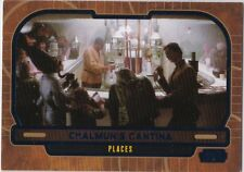 STAR WARS GALACTIC FILES SERIES 2 BLUE PARALLEL #654 CHALMUN'S CANTINA 258//350