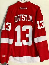 Reebok Premier NHL Jersey Detroit Redwings Pavel Datsyuk Red sz M
