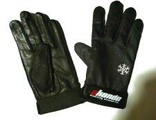Gants AKANDO Winter noirs cuir souple et résistant Taille XXXS (17,5 x 8 cm)