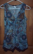 Women's Can't Miss Top Blouse Size L Large GUC Free Ship