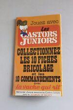 Fiche bricolage Castors Juniors Vache qui rit Lunettes Ronfleur 6e commandement