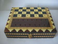 Schachbrett aus Holz Schachfalten Reiseschachbrett