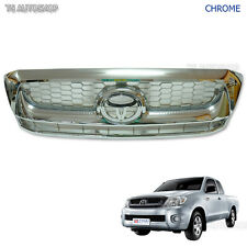 Fit Toyota Hilux Vigo Sr5 Mk6 2008-2011 Chrome Front Grille Grill Replacement